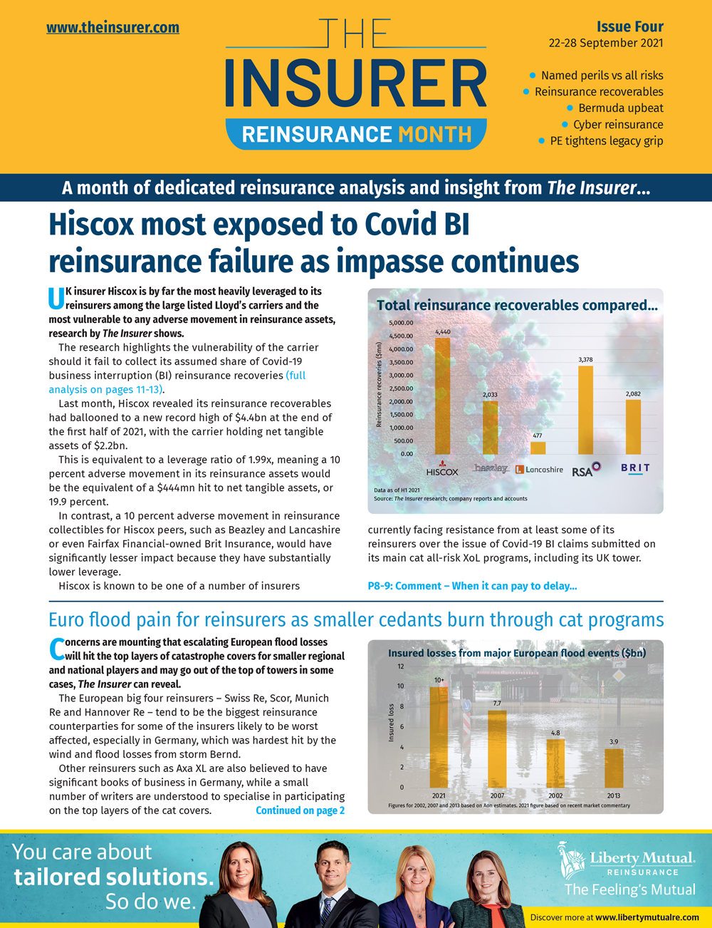 Reinsurance Month 2021: Issue Four