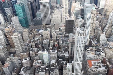 New york buildings tall top view 48896