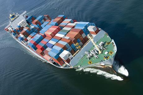 Marine, container ship