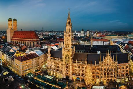 Munich, skyline