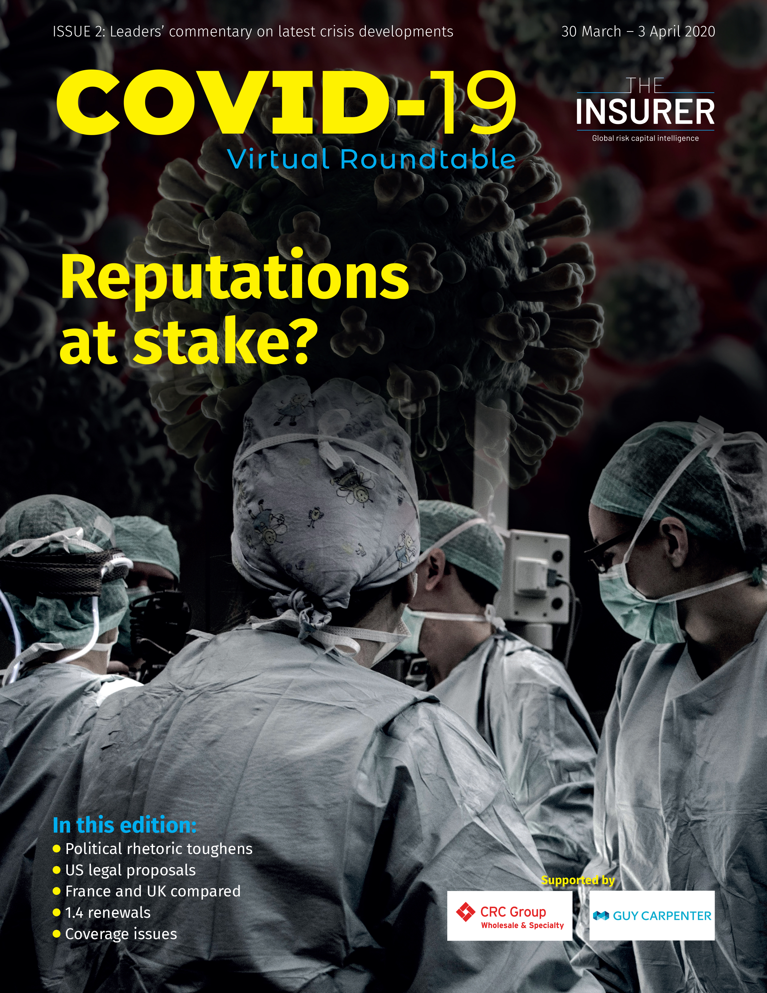 Covid-19 virtual RT Issue Two - cover