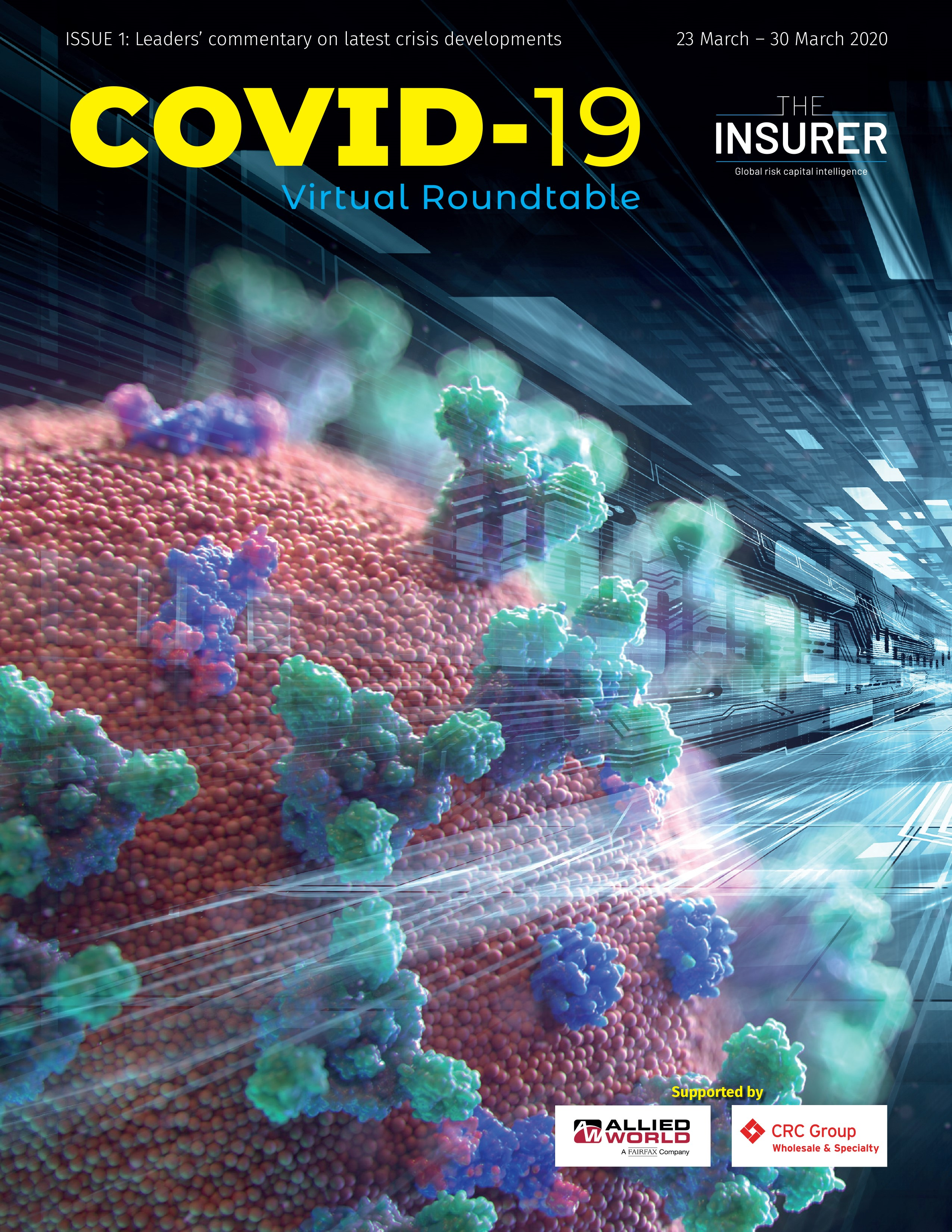 COVID-19 virtual RT Issue One (new) cover